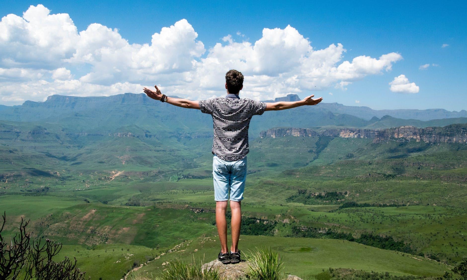 landscape nature africa boy