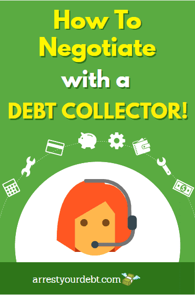 How To Negotiate With Debt Collectors!