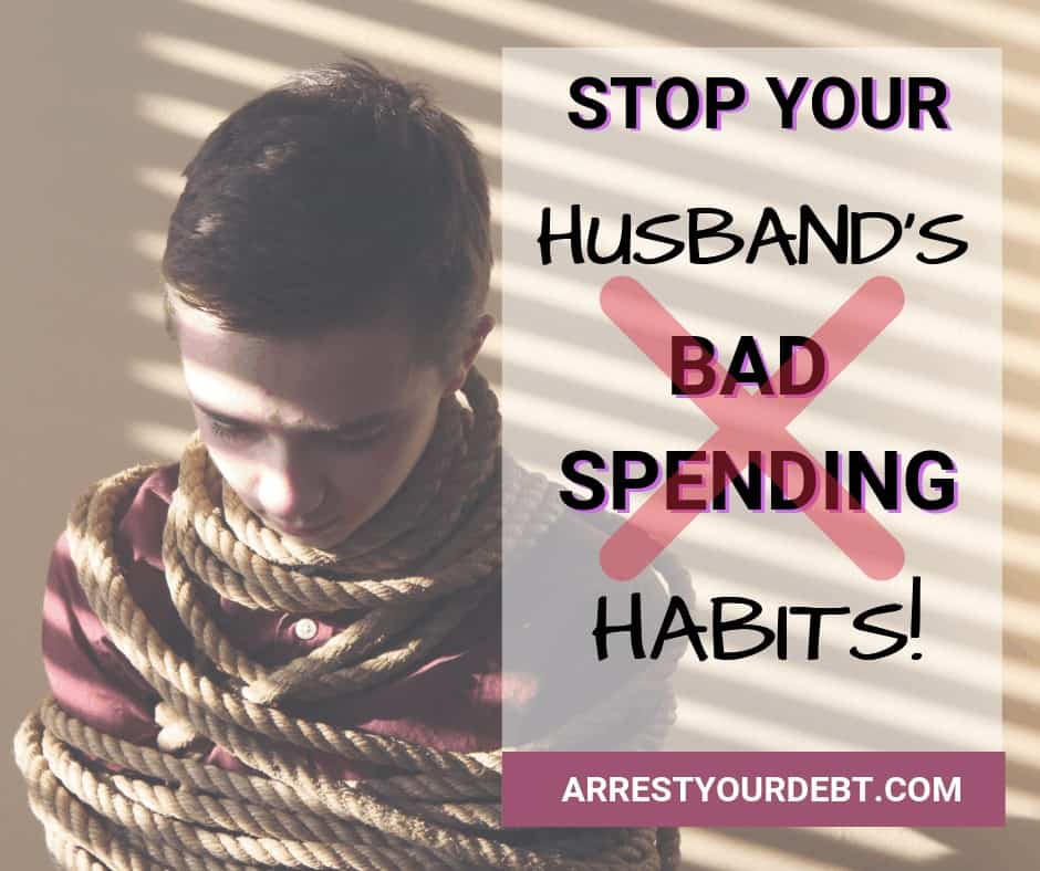 Stop your husband's bad spending habits
