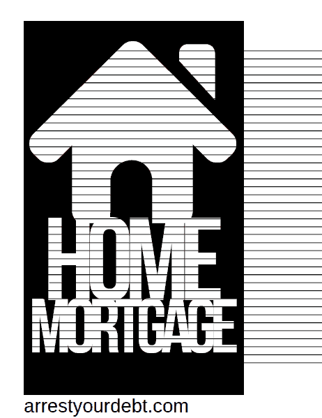 homemortgagecolor2 1 Home Mortgage Coloring Page