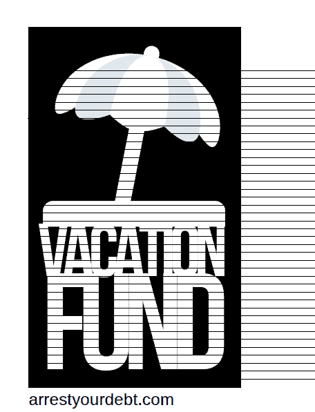 vacationfund2 1 Vacation Fund Coloring Page