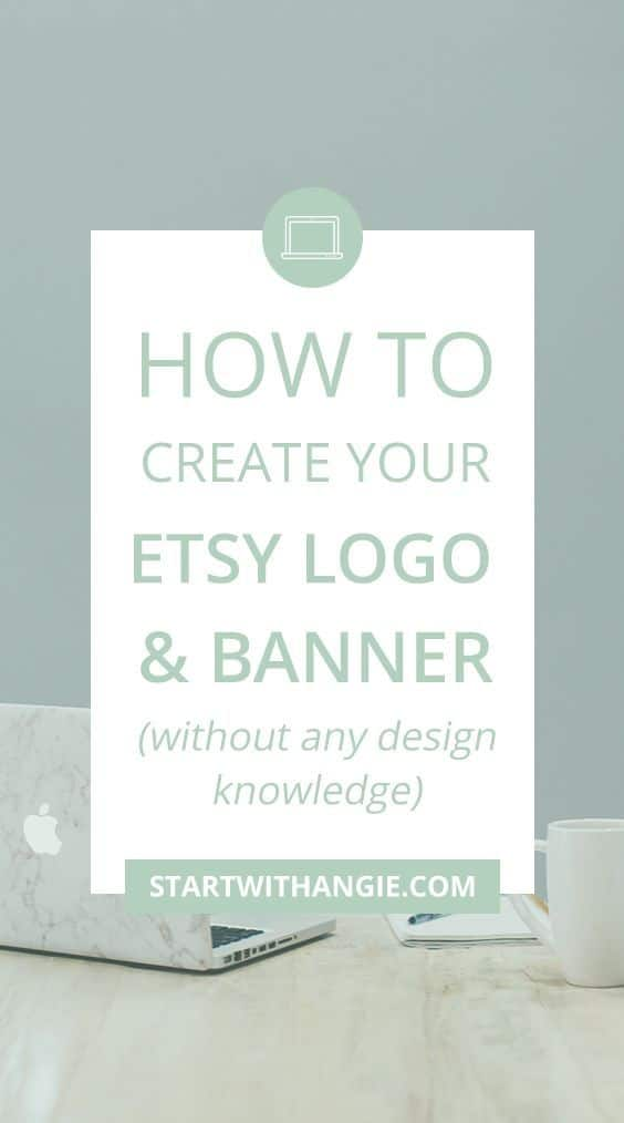 how to create your etsy logo and banner