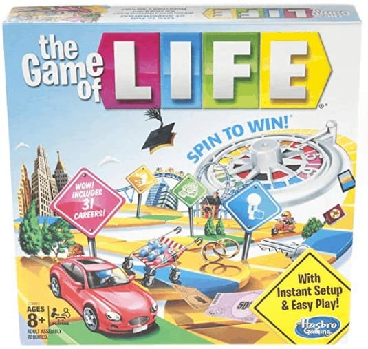 Hasbro Gaming The Game of Life Board Game Ages 8 & Up