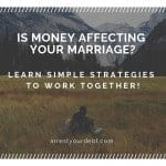 Is Money Affecting Your Marriage?