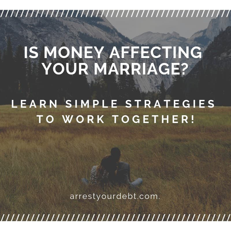 is money affecting your marriage Is Money Affecting Your Marriage?
