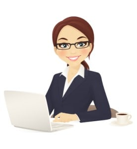 clerical or administrative job