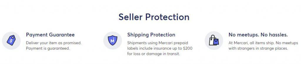 mercari seller protection