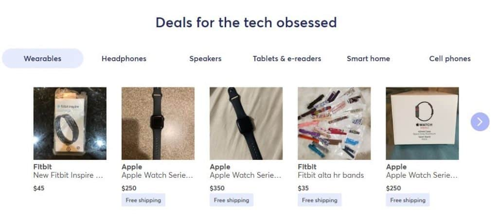 mercari reviews deals for the tech obsessed