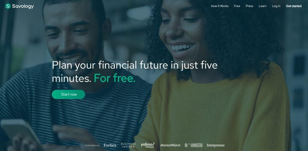 savology free financial plan test