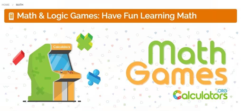 calculators.org fun math games for kids