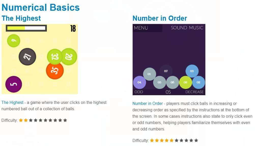 numeral basics for kids to learn math