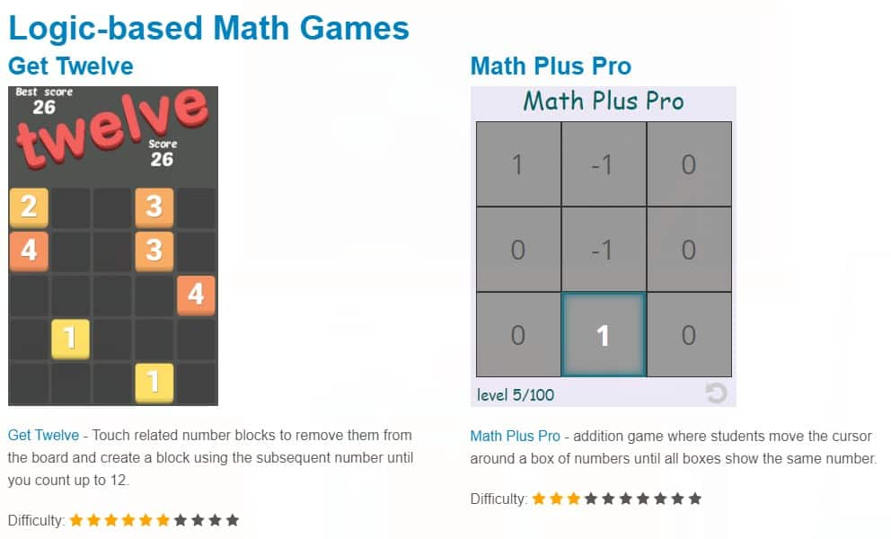 image 8 Free Online Math Games [For Kids!]