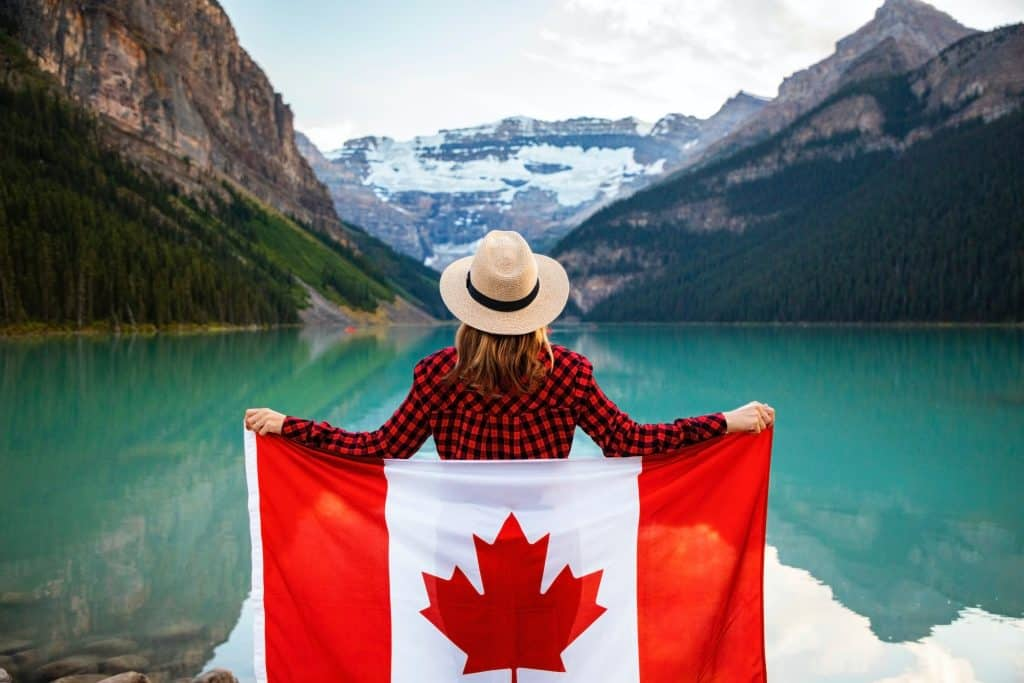 canadian credit scores and flag