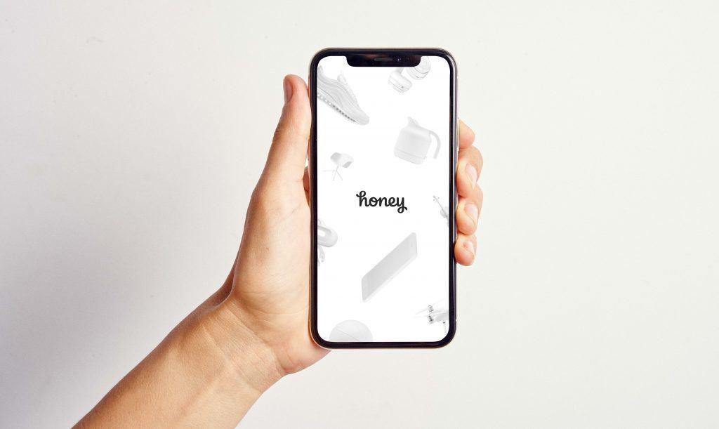 honey app on cell phone