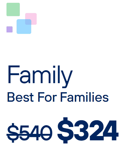 Qube Family lifetime plan
