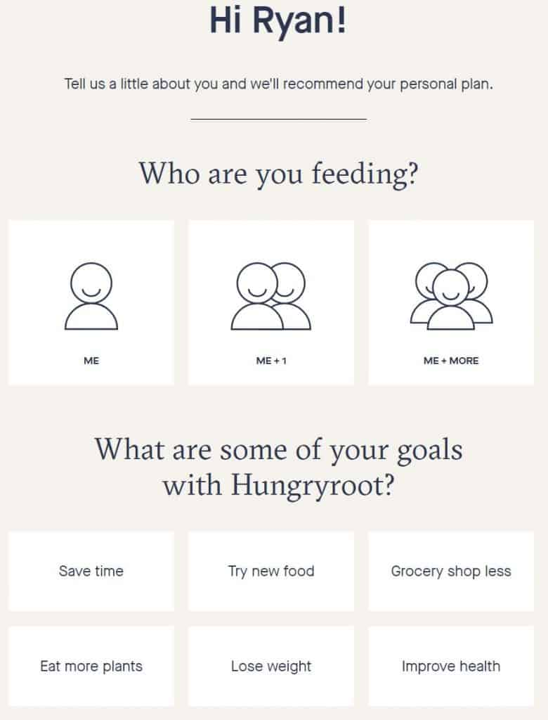 hungryroot survey review