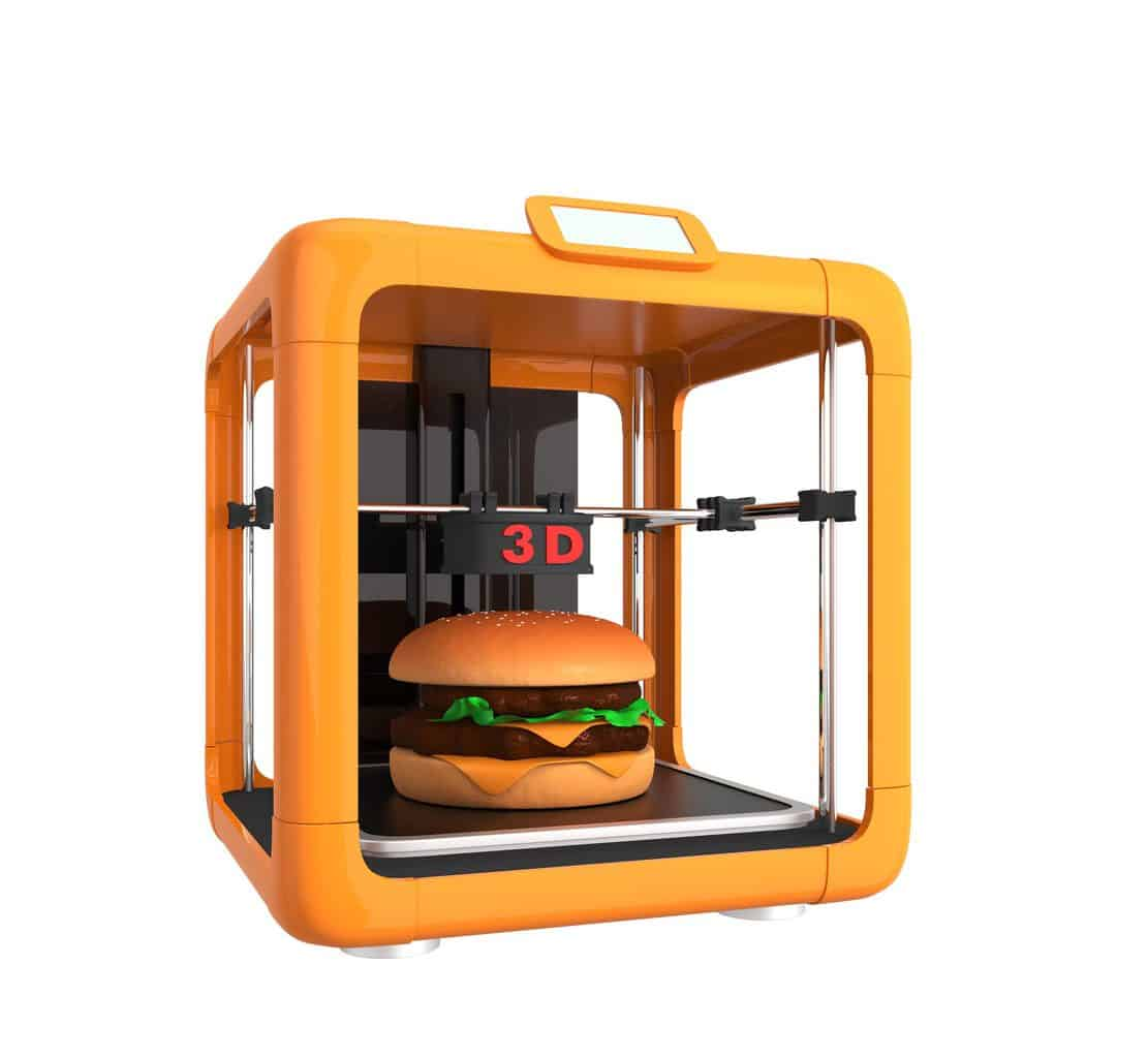 3d print food edited Make Money With A 3D Printer [Complete Beginners Guide]