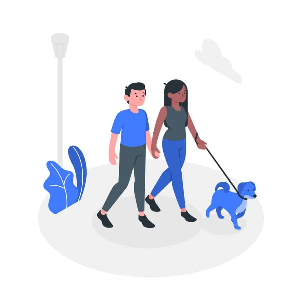 make money as a kid by walking dogs