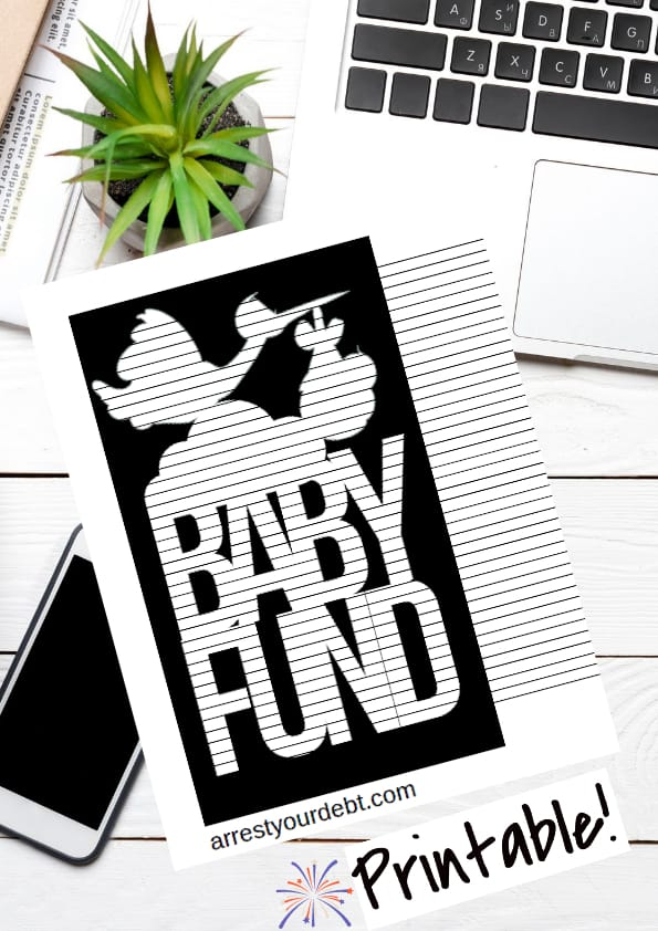baby fund coloring page