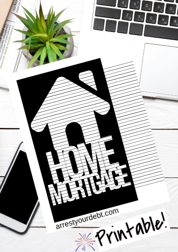 home mortgage coloring page