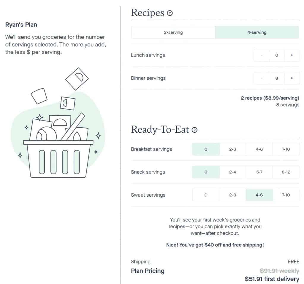 hungryroot checkout Hungryroot Review: Our Experience And Recommendation