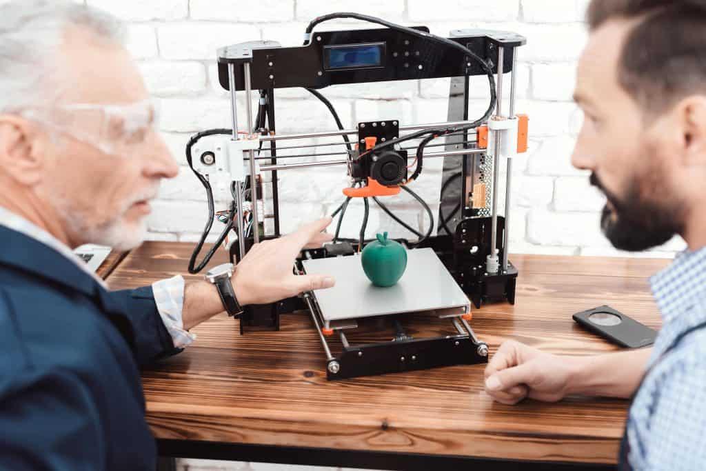 prining 3d models with a 3d printer