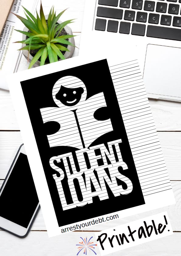 student loans coloring page
