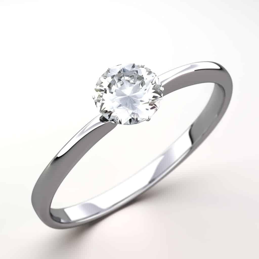 Cubic Zirconia diamond alternative