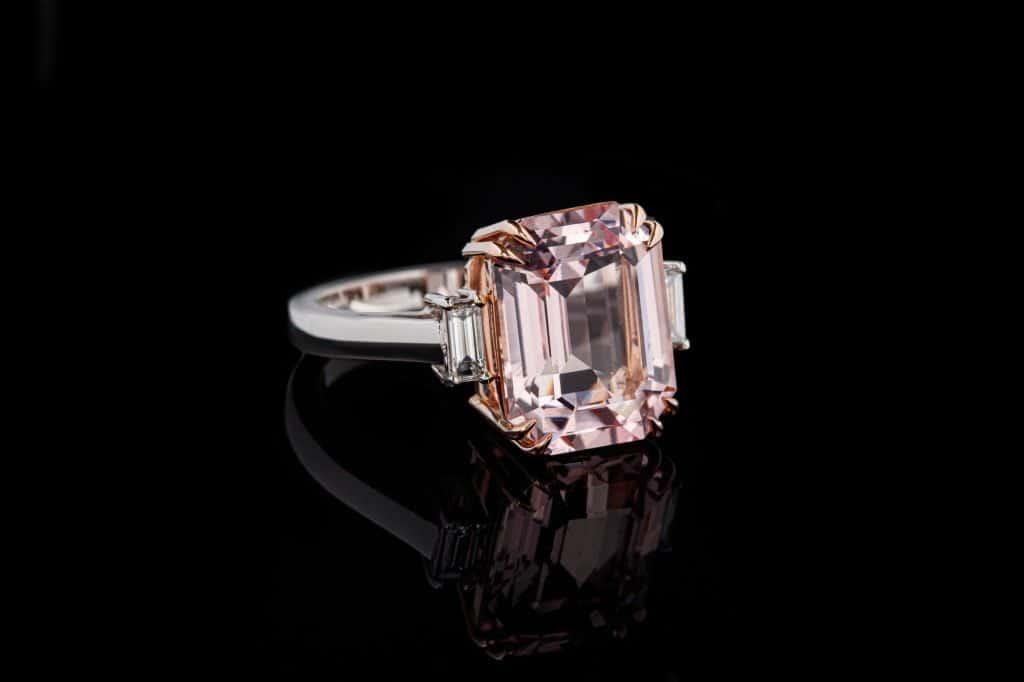 Morganite diamond alternative