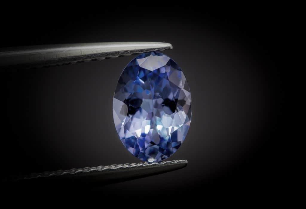 Tanzanite diamond alternatives