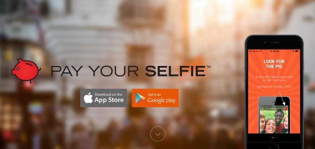 pay your selfie app