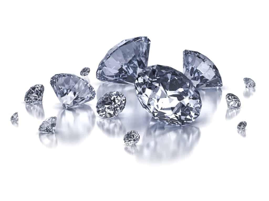 salt and pepper diamond alternative