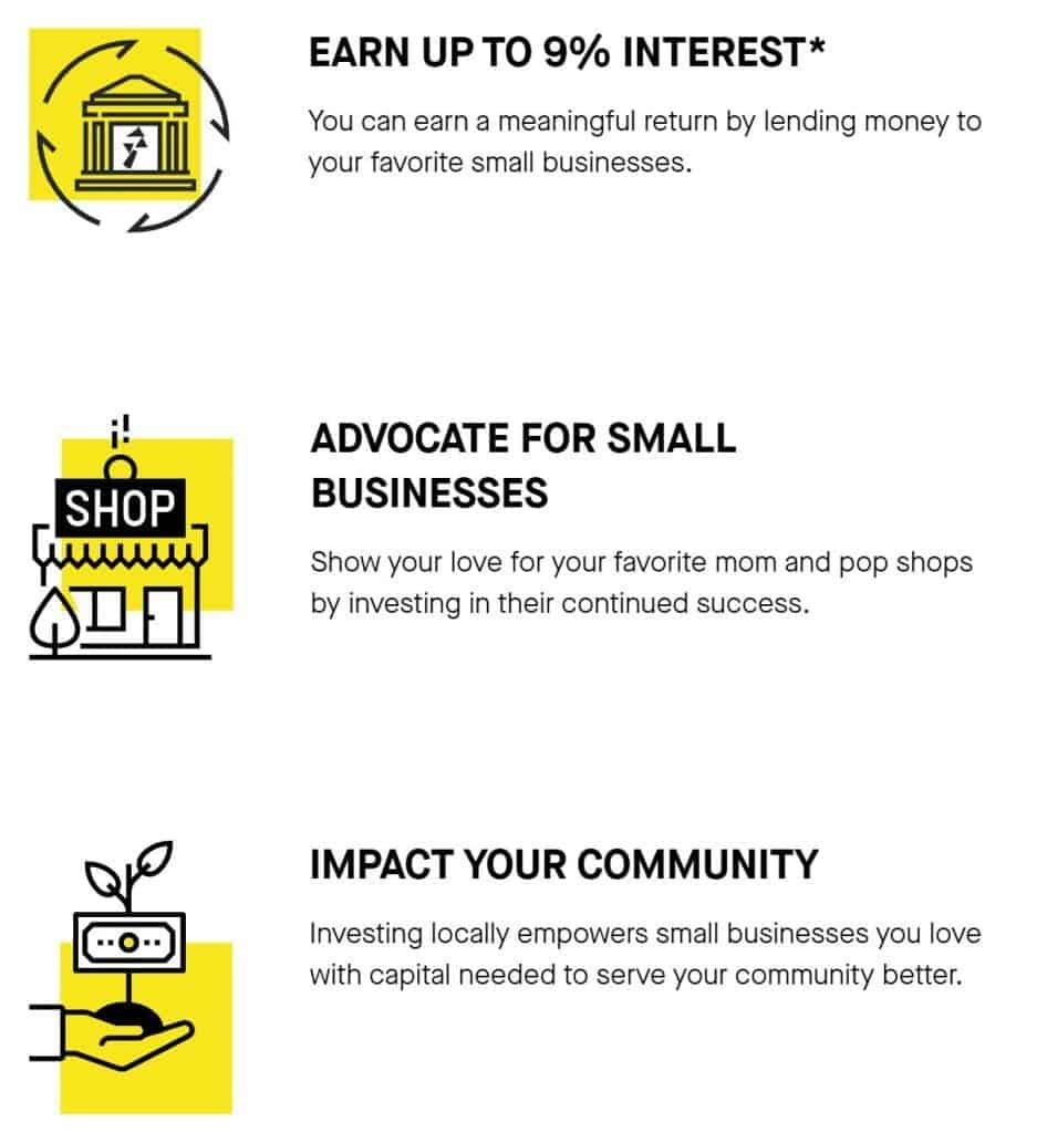 benefits of crowdfunding small business bonds through SMBX
