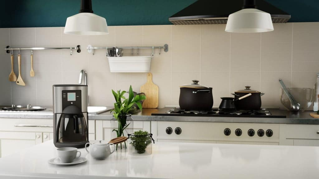interior poster modern kitchen 5 Ways to Save Money When Moving To NYC