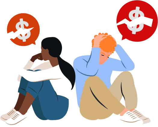 relieving financial stress to avoid becoming a financial burden
