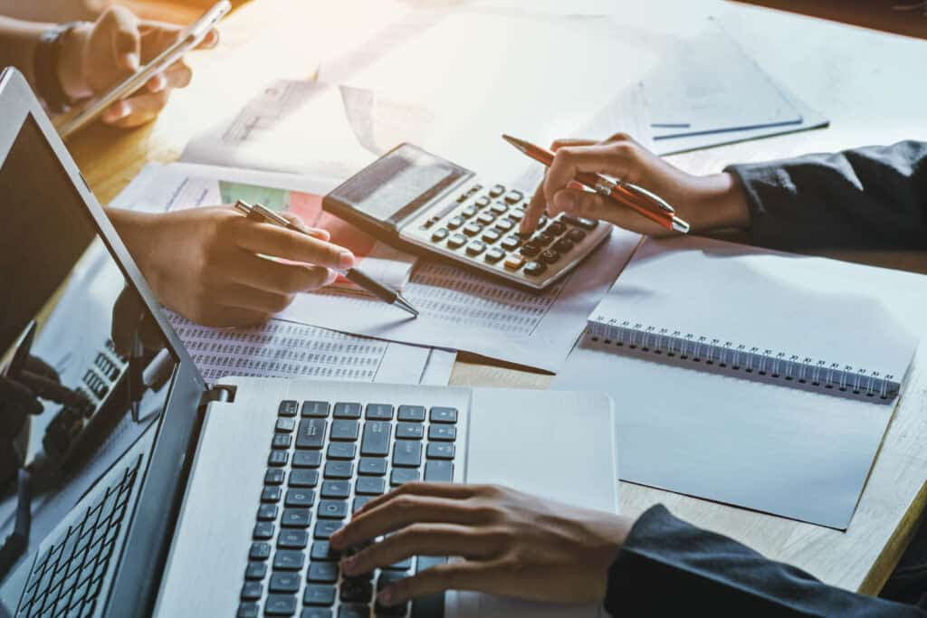 use a small business account to manage finances
