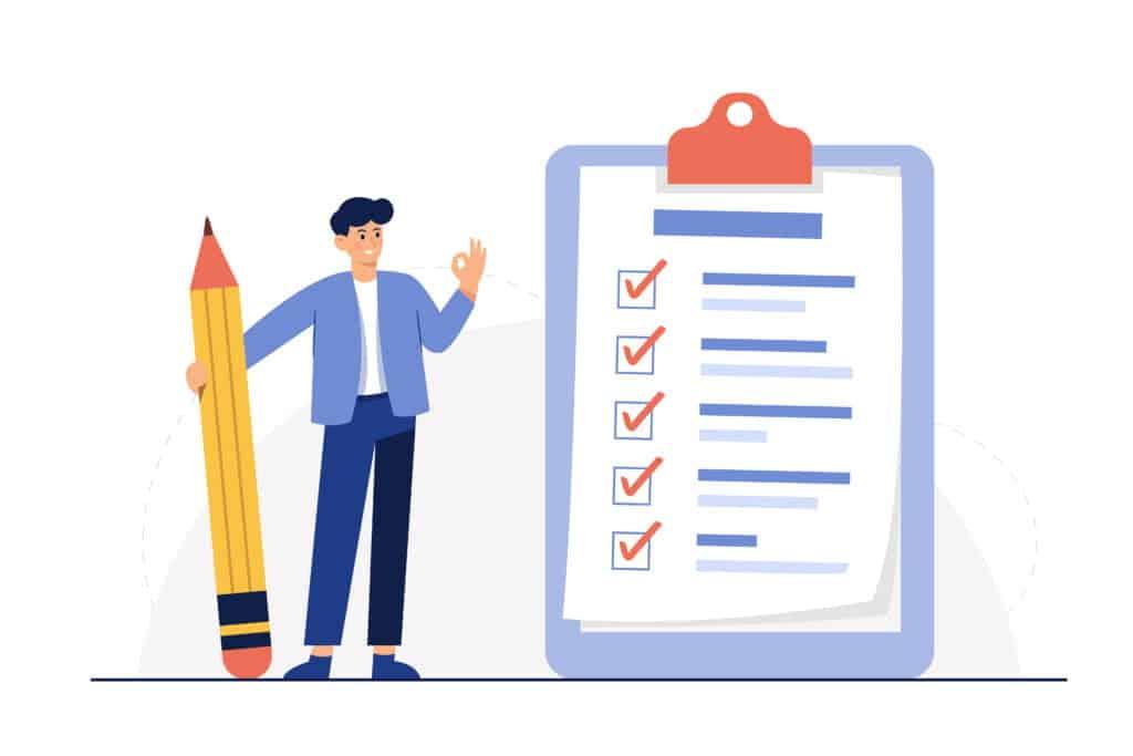 escrow process checklist