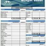 Budget Template Freebie